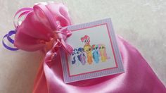 PARTY PACK Sets of 6 to 12 - My Little Pony Favor Bags (Filled) by TeatotsPartyPlanning on Etsy