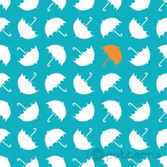 Umbrellas - I ♥ patterns