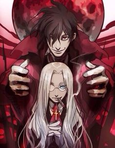 Integra and Alucard