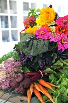 Harvest Bounty from Carolyne Roehm's Garden