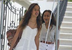 Sasha & Malia Obama Are Facing Backlash For Being ... Regular Teenagers