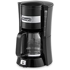 Buy De'longhi L Filter Coffee Maker of Cup Capacity, 900 W - Black securely online today at a great price. De'longhi L Filter Coffee Maker of Cup Capacity, Coffee Machine Best, Filter Coffee Machine, Home Coffee Machines, Coffee Maker Machine, Coffee And Espresso Maker, Best Coffee Maker, French Press Coffee Maker, Drip Coffee Maker, Machine Expresso