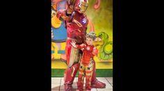 Iron Man en tu fiesta de cumpleaños
