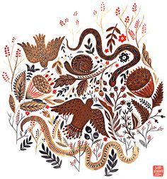 mirdinara42-2015-snakes and birds-sm.jpg