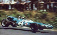 1969 German Grand Prix (Nurburgring) - Jackie Stewart in the Matra Jackie Stewart, F1 Racing, Road Racing, Le Mans, Grand Prix, Alpine Renault, Matra, Gilles Villeneuve, Old Race Cars