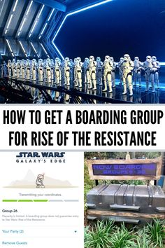 Star Wars: Rise of the Resistance Boarding Group Questions - how do you get one? How do they work? Do you need to be in the park? Does it work with DAS? Plus all the best tips on how you score a Boarding Group at Hollywood Studios! Disney World Tickets, Disney World Vacation Planning, Disney World Florida, Disney World Trip, Disney Vacations, Disney Parks, Disney Travel, Vacation Places, Disney Worlds