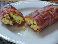 Bacon egg cheese roll