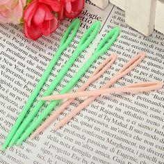 6pcs Plastic Sewing Needles Binca Crochet Knitting Cross Stitch Needle
