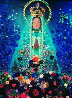Maria, minha mãe by VIVIANE MENDES1, Art - Goddesses, Muses