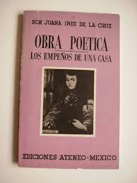 Es un libro por Sor Juana Inés de la Cruz sobre Obra Poetica.