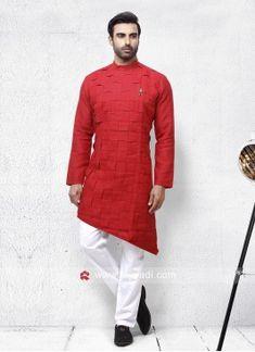Rust Color Pathani Set Engagement Dress For Men, Pathani For Men, Black Linen, Maroon Color, Rust Color, Lehenga Choli, Girls Wear, Cotton Silk, Satin Fabric