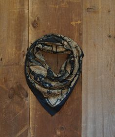 SALE/ Vintage Scarf / Wool Scarf / Boho Scarf by littleedenvintage, $19.00