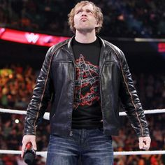 Dean Ambrose is fuming after Chris Jericho put him into a strait-jacket on SmackDown.