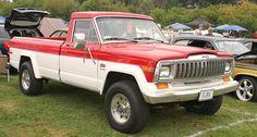1982 Jeep J20 4X4 pickup by carphoto, via Flickr