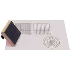 Set of three 3 stamps includes: two rectangular coordinate stamps and one polar coordinate. $14.50