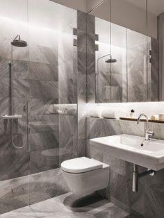 50 Ideas bathroom white shower wet rooms for 2019 Modern Bathroom Design, Contemporary Bathrooms, Bathroom Interior Design, Modern Bedroom, Gray Bedroom, Bathroom Designs, White Bathroom, Small Bathroom, Master Bathroom