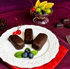 Lea's Cooking: How to Make Russian Chocolate Cheesecake Bites {Глазированные сырки}