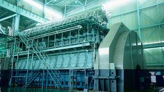 Internal combustion engine power plant - Google Search Combustion Engine, Generators, Electric Power, Diesel Engine, Engineering, Google Search, Plants, Plant, Technology