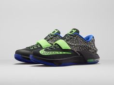 "quality design 28022 da88f Nike KD 7 ""Electric Eel"" Official Images, Release Date - Air 23 - Air Jordan  Release Dates, Foamposite, Air Max, and"