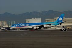 Air Tahiti Nui A340 Air Tahiti, Tahiti Nui, Fly Air, International Airport, Airplane, Plane, Aircraft, Airplanes