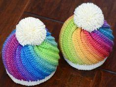 8 Maravillosos Gorros a crochet para niños y bebés