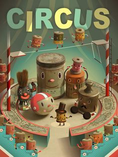 Cristian Turdera, Argentina  (circus inspired)
