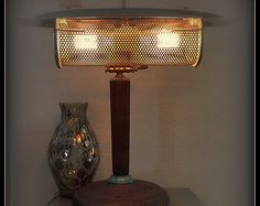 Atomic Assemblage Industrial, Mid Century, Art Nouveau, Victorian, SteamPunk, Task, Table, Desk, Artistic Lamp, Light, Lighting