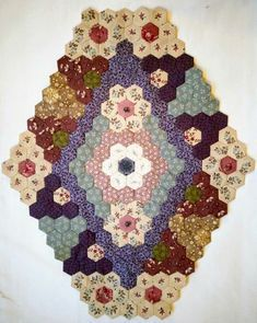 Quilts and Siggies: winterse hexjes