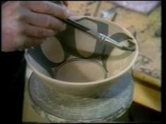 BBC The Craft of the Potter Decoration part 1 Alan Caiger-Smith with Mick Casson