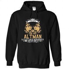 ALTMAN . Team ALTMAN Lifetime member Legend  - T Shirt, - tshirt printing #tshirt quotes #tshirt text