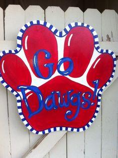 Louisiana Tech Mississippi State Georgia Bulldogs by Earthlizard, $40.00