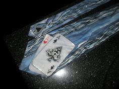 Custom silk tie designed and hand painted by artist VIP service, tie based on your design ideas in custom colors and custom motifs