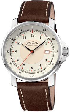 Muhle Glashutte Watch M 29 Classic #bezel-fixed #bracelet-strap-leather #
