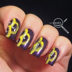 Nail Art, Nails, Flowers, Painting, Beauty, Finger Nails, Ongles, Painting Art, Cosmetology