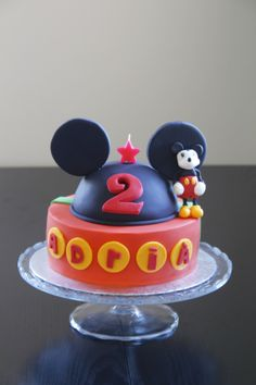 Mickey Mouse and MIC cake