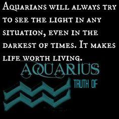 Truth of Aquarius....