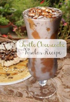 Get your Visalus at www.thelifeofvi.com!  Turtle Cheesecake ViSalus Shake Recipe