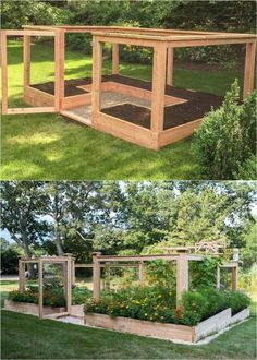 7 best vegetable garden layout ideas on soil, sun orientations, spacing, edible planting varieties, plans & design secrets to create productive & beautiful kitchen gardens. – A Piece of Rainbow - Vegetable Garden Layout: 7 Best Design Secrets! Vegetable Garden Design, Veg Garden, Diy Garden Fence, Building Raised Garden Beds, Backyard Vegetable Gardens, Edible Garden, Backyard Garden Ideas, Vegetable Garden Planning, Backyard Garden Landscape