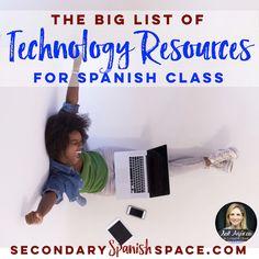I've talked with Spanish teachers far and wide to compile this BIG list of technology resources for secondary Spanish class. I hope you enjoy taking a look at the list, and that you give some new tech