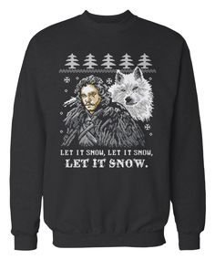 This totally festive Game of Thrones sweatshirt: | 28 Impossibly Cool Gifts No Geek Could Ever Refuse