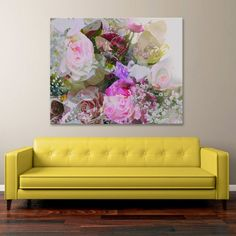 Floral Rose Canvas Print