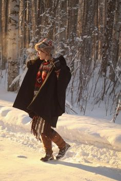 Alaskan Weredork: A Style Diary // Winter layers... and lovin the hat.