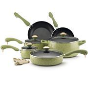 Paula Deen® 15-pc. Enamel Cookware Set - Pear.....Best Gift I Have Ever Received!!!