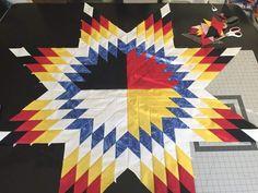46 Ideas Sewing Logo Design Ideas Projects For 2019 Lone Star Quilt Pattern, Star Quilt Patterns, Star Quilts, Quilt Blocks, Star Blocks, Machine Embroidery Projects, Quilting Projects, Quilting Designs, Ribbon Quilt