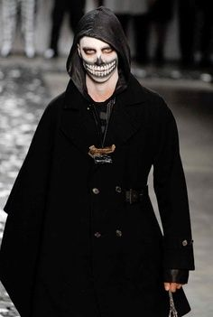 Male skeleton/day of the dead costume makeup | best stuff