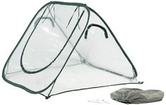 UV Resistant Flower House Clear Seed House - Waterproof, Zippered, Lightweight $84.99 Great Deal!  Garden for the Future....