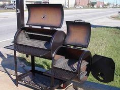 Diy Smoker, Bbq Pit Smoker, Homemade Smoker, Custom Bbq Smokers, Custom Bbq Pits, Barrel Bbq, Barrel Smoker, Smoker Cooker, Smoker Designs
