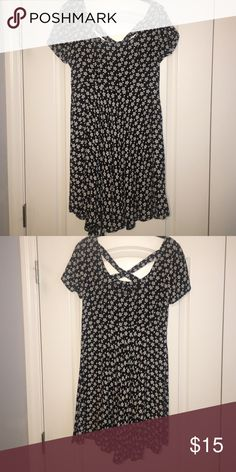 Urban outfitters dress with criss-cross back Size medium Urban Outfitters Dresses Mini