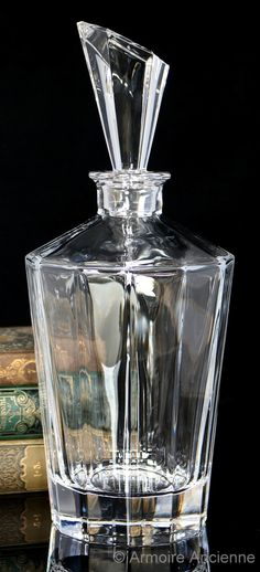 3.8 Lbs Crystal Glass Decanter for Whiskey, Cognac, Bourbon
