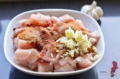 Bloemkool ovenschotel met kip - WayMadi Lunch Recipes, Cooking Recipes, Recipies, Clean Eating, Pork, Veggies, Food And Drink, Yummy Food, Meat